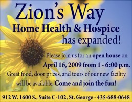 Zion's Way expanded