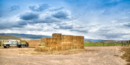 Hay on ranchette in Alimony, Utah