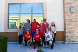 NAI Vegas Competes in Charity Basketball Tournament