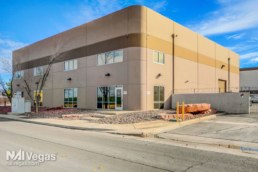 Industrial building located in Henderson Nevada sold with NAI Vegas