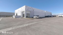 white commercial real estate building listed with NAI Vegas
