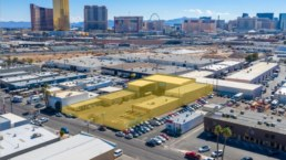 Downtown Las Vegas commercial real estate building