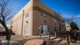 Square commercial real estate building in Henderson, Nevada