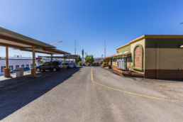 St. George Taco Time Sells building - Side view