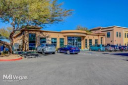 Side view of Medical office in Henderson Nevada sold