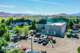 Professional Building in Reno - Parking lot