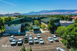 Professional Building in Reno - Parking lot view