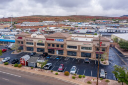 Retail Building along I-15 in St. George UT Sells