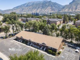 Provo office building - aerial