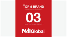 NAI Global Ranked 3rd in the Lipsey Brand Survey
