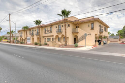 Las Vegas commercial real estate street view on Russell Road