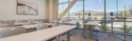 conference room inside NAI Excel building in Lehi, Utah
