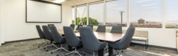 conference room inside NAI Excel building in St George