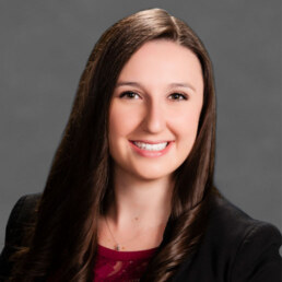 Alyssa Parks is a commercial real estate agent in Las Vegas, Nevada