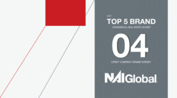 NAI Global is ranked in the top five for commercial real estate
